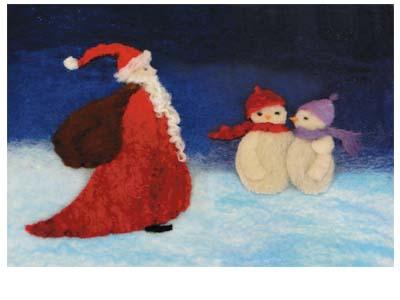 Felt Christmas Picture Kit-0
