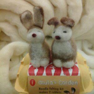 Needle Felting Kit - Rabbits-0