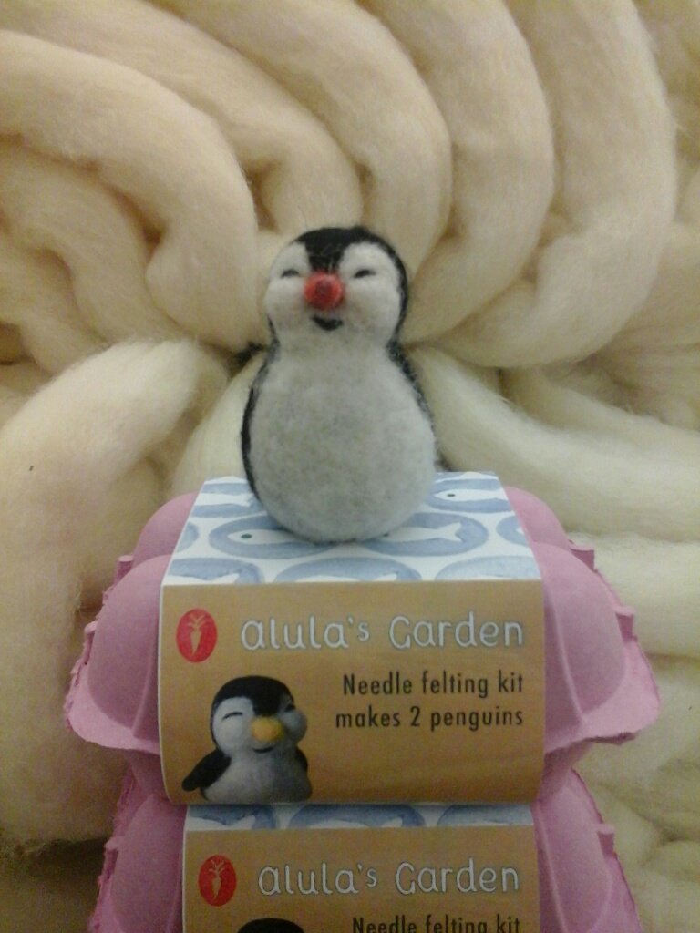 Needle Felting Kit - Penguins-0
