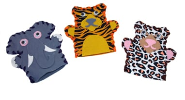 Mister Maker - Endangered Animal Hand Puppets-0