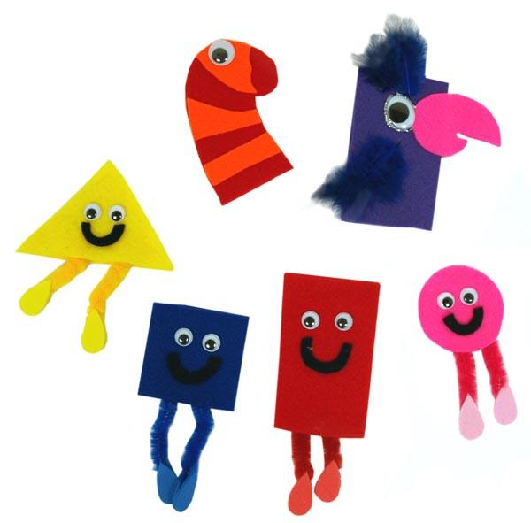 Mister Maker - Finger Puppets-0