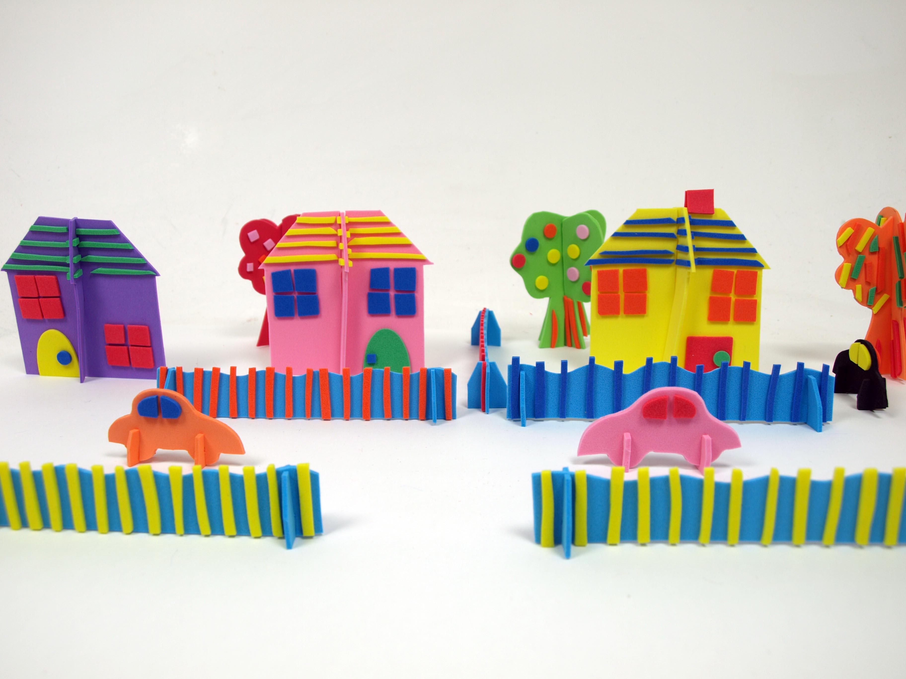 Mister Maker - 3D Foam Models-0