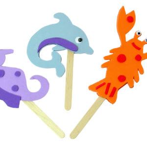 Mister Maker - Sealife Puppets-0
