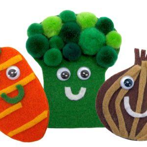 Mister Maker - Vegetable Finger Puppet Kit-0