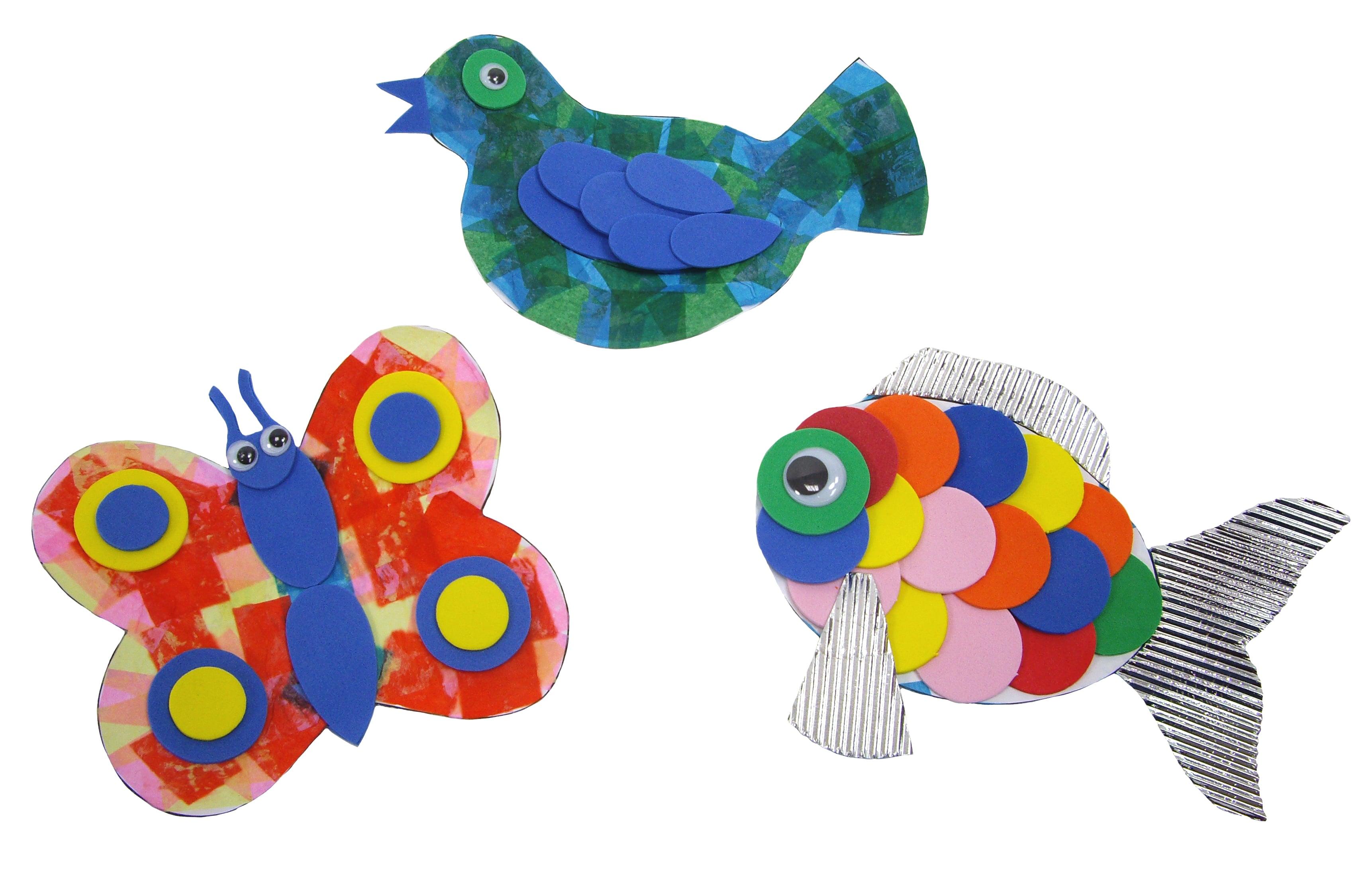 Mister Maker - Collage Animals Kit-0