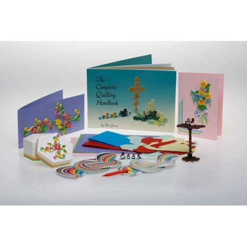Pastimes Quilling - The Complete Beginners Workbox-0