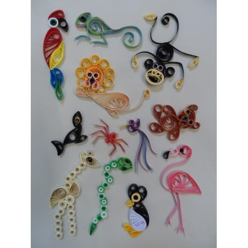 Quilling Designs at the Zoo-0