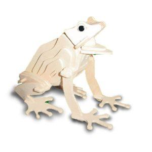 Woodcraft Construction Kit - Frog-0