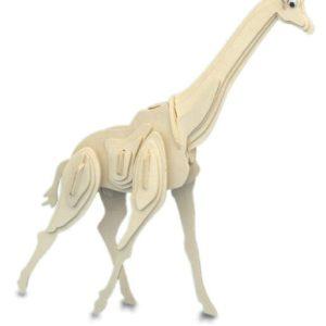 Woodcraft Construction Kit - Giraffe-0