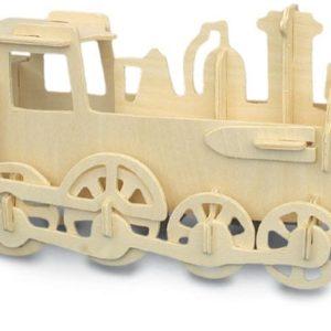 Woodcraft Construction Kit - locomotive-0
