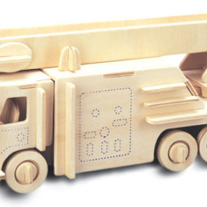 Woodcraft Construction Kit - Fire Engine-0