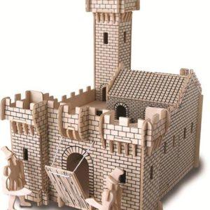 Woodcraft Construction Kit - Knight's Castle-0