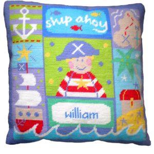 Needlepoint Kits - Pirate Cushion-0