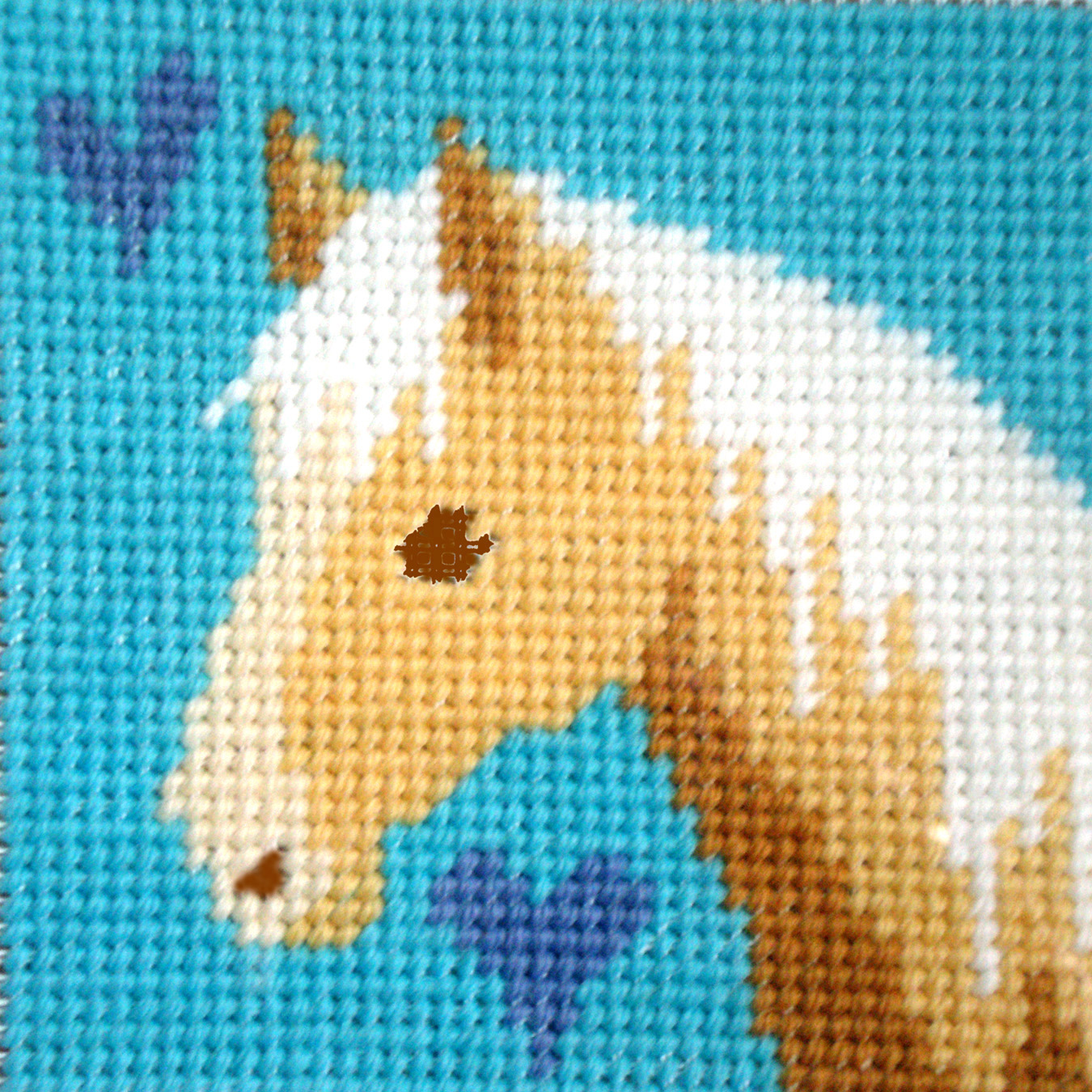 Children's Needlepoint Kit - Palomino-0